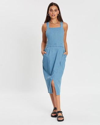 MinkPink Genuine Midi Dress