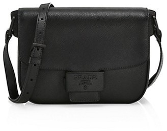 Prada Embleme Leather Crossbody Bag