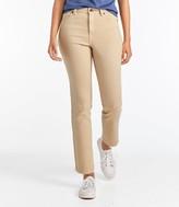 L.L. Bean L.L.Bean Women's True Shape Ankle Jeans, Classic Slim Leg Colors