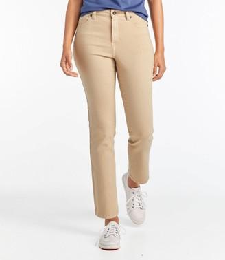 L.L. Bean Women's True Shape Ankle Jeans, Classic Slim Leg Colors