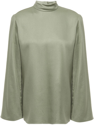 Theory Satin-twill Blouse