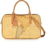 Alviero Martini 1a Prima Classe - Geo Printed Medium 'New Basic' Satchel Bag