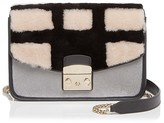 Furla Metropolis Fur Small Shoulder Bag