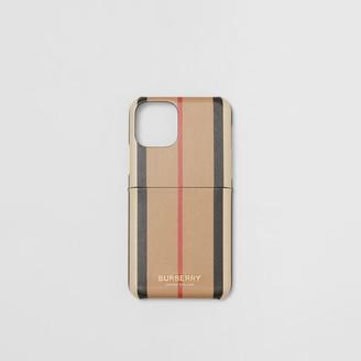 Burberry Icon Stripe E-canvas iPhone 11 Pro Case