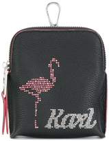 Karl Lagerfeld Yoni Alter keychain pouch