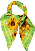 Gucci Silk Sunflower Scarf