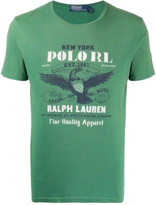 Polo Ralph Lauren crew neck eagle print T-shirt