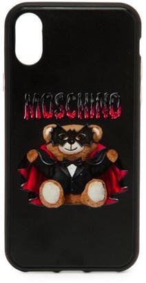 Moschino iPhone X Vampire Bear Phone Case