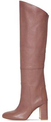 Stuart Weitzman 90mm Lucinda Tall Leather Boots