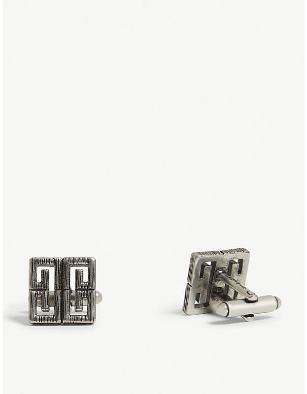 Givenchy Interlinking G logo cuff links