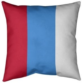 Artverse Houston Houston Football Stripes Pillow Cotton Twill Shopstyle Striped Pillows