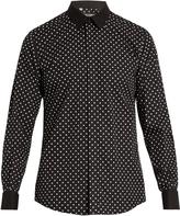 Dolce & Gabbana Polka-dot print cotton shirt