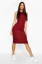 Boohoo Lindsey Sleeveless Midi Dress