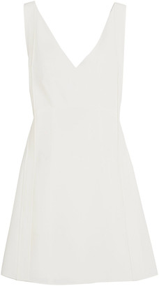 Chloé Bow-detailed Crepe Mini Dress