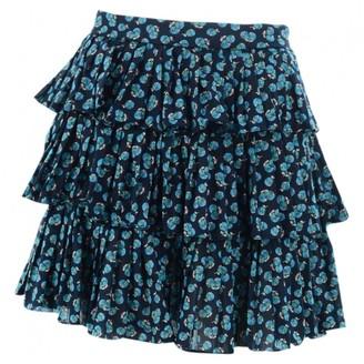 Marc Jacobs Blue Cotton Skirts