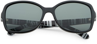 Kate Spade Ayleen 56mm Square Sunglasses