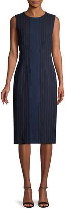Marni Pinstripe Sheath Dress