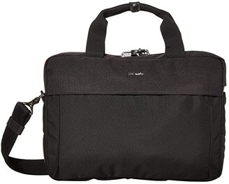 Pacsafe 13 Intasafe X Laptop Anti-Theft Slim Brief (Black) Briefcase Bags