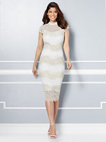 New York & Co. Eva Mendes Collection - Jordana Lace Sheath Dress