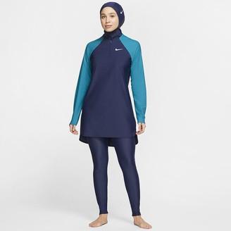 Nike Women's Full-Coverage Slim Swim Pants Victory