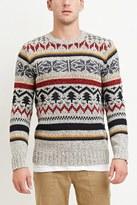 Forever 21 Striped Fair Isle Sweater