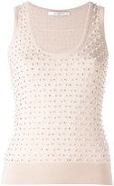 Givenchy embellished sleeveless sweater - women - Silk/Wool - S