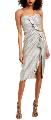 Jonathan Simkhai Lame Sheath Dress