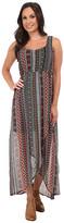 Roper 9758 Aztec Printed Chiffon Dress