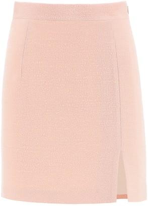 Alessandra Rich High-Waisted Mini Skirt