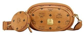 MCM Small Essential Visetos Original Crossbody Bag
