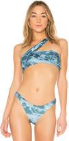 Baja East Wrap Bikini Top