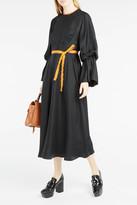Roksanda Ophelia Contrast-Trim Dress