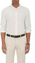 Luciano Barbera Men's Linen Piqué Shirt