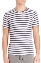 Splendid Mills Striped Crewneck Tee