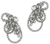 Jenny Packham Swarovski Crystal Front Back Earrings
