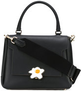 Anya Hindmarch egg buckle shoulder bag - women - Calf Leather - One Size