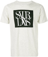 Saturdays NYC overlap T-shirt