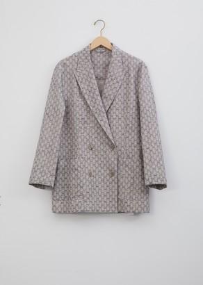 Acne Studios Jay Floral Jacquard Suit Jacket