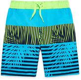 Arizona Boys Leaf Swim Trunks-Preschool