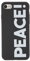 Stella McCartney Slogan Silicone Iphone 6/6S & 7 Case - Black