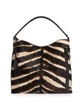 Tom Ford Alix Small Zebra Hobo Bag