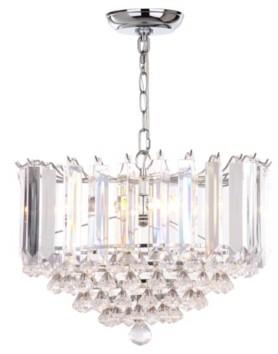 "Safavieh Hampton 2 Light 16.5""D Glass Pendant"