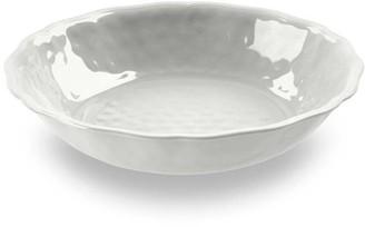 TarHong White Savino Outdoor Serve Bowl