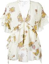 IRO floral-print top