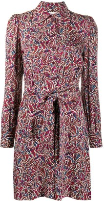 MICHAEL Michael Kors Paisley-Print Shirt Dress