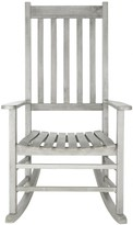 The Well Appointed House Grey Outdoor Rocking Chair
