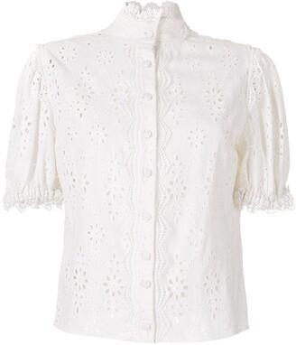 Martha Medeiros Dora broderie anglaise blouse