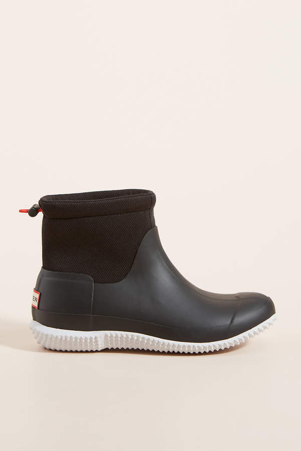Hunter Mesh Boots By in Black Size 6