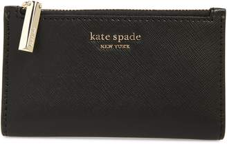 Kate Spade Spencer Small Slim Saffiano Leather Bifold Wallet