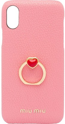 Miu Miu pull-ring detail iPhone X/XS case
